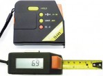 Talmeter digital 5 meter avl. 0,1cm bandbredd 19mm
